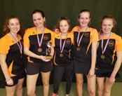 ICS HS School Girls are Tops at Tennis
