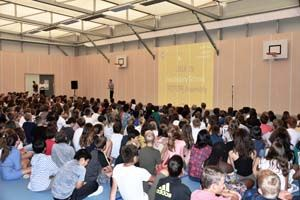 ICS Primary & Secondary Assemblies Welcome New and Returning Students