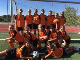 Sensational Soccer Start for ICS G6 Girls!