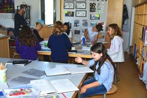 Inspired Grade 4 Students Develop Their Creativity