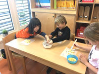"Primary German Students Bake and Celebrate ""Swiss Style"" in December"
