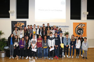 Secondary Sports Awards Conclude the ICS Winter Sports Season