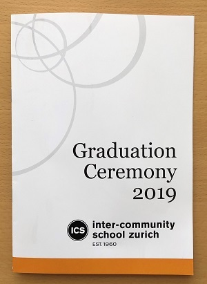 Goodbye and Good Luck ICS Class of 2019!