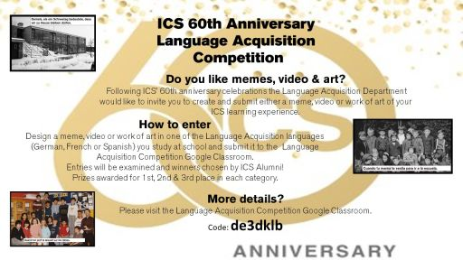A Competition Reflecting Students' Learning Experiences at ICS
