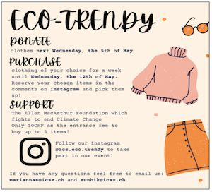 Eco-Trendy – A Grade 11 Student-Led Initiative