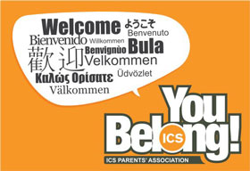 you belong poster, international school