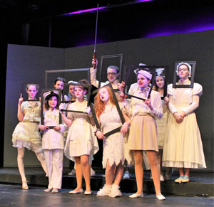 The Addams Family: School Edition Wows ICS Audiences!