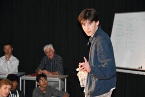 ICS Students Shine with Slam! | News Post